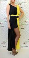 Платье шифон двухцветное, фото 1