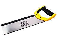 Ножовка пасовочная 325 мм, 12TPI MAX CUT, каленый зуб, 3-D заточка Mastertool 14-2703
