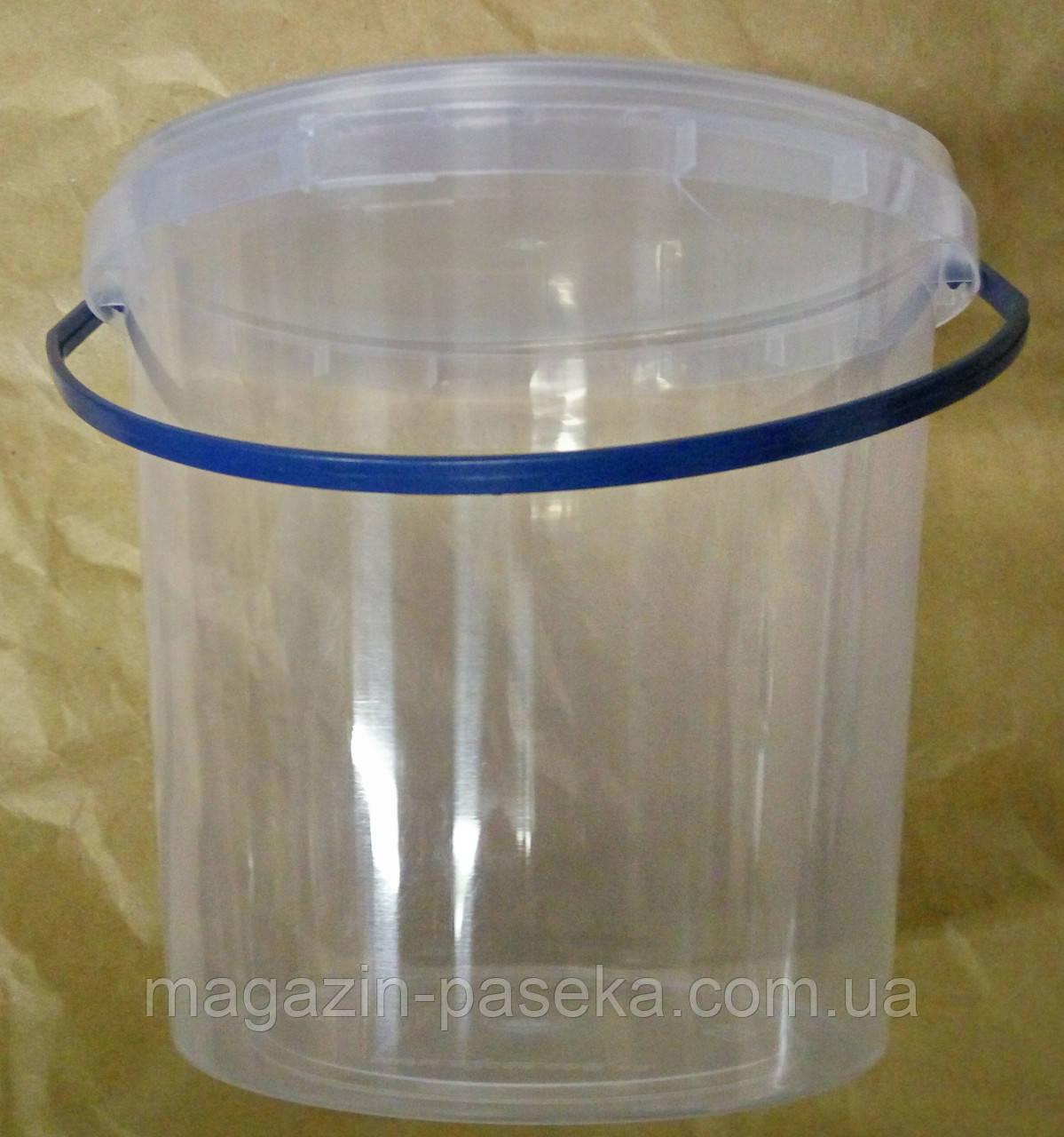 Пластиковое ведро для мёда 1,0 л