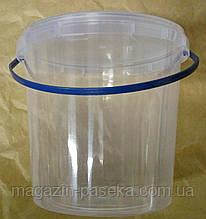 Пластикове відро для меду 1,0 л