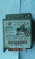 Блок управления SRS (Airbag) Opel Omega B (90 492 467 LJ, 90492467LJ, 5WK4 110, 5WK4110, LJ S02234878)