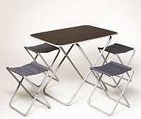Комплект туристический 6270 стол + 2 стула Пикник