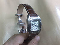 Ремешок из Крокодила для часов Cartier Santos 100