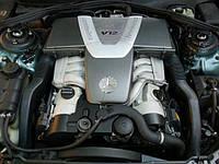 Б У двигатель 6.0 V12 Mercedes w220 CL