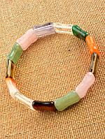 Женский браслет из самоцветов