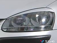 Реснички на фары Volkswagen Jetta A5