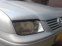Реснички на фары Volkswagen Bora, Накладки на фары Бога