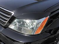 Реснички на фары Lexus GX 450, Накладки на фары Лексус ГХ 450