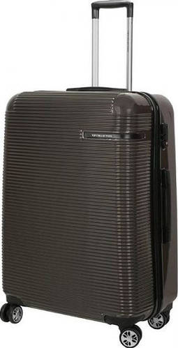 Удобный большой чемодан на 4-х колесах 102 л Vip Collection Maldivas 28 Anthracite MDS.28.grey, темно-серый