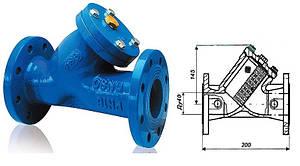 Фильтр для воды фланцевый осадочный Ду40мм чугун