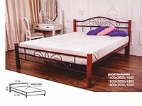 Ліжко Лара Люкс Вуд