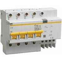 Диф. автомат IEK АД 14 тип АС (MAD10-4-025-C-030)