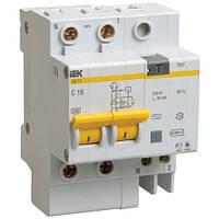 Диф. автомат IEK АД 12 тип АС (MAD10-2-016-C-030)