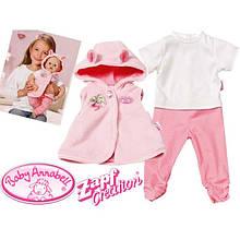 Одежда для куклы 46 см Baby Annabell Deluxe Zapf Creation