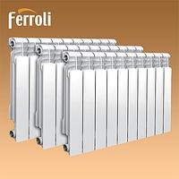 Радиатор алюминиевый Ferroli POL 500x100, фото 1