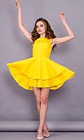 Моник. Стильное платье. Желтый.