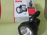 Поисковый фонарь ZUKE ZK-L-2128 с солнечной батареей