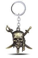 """Брелок """"Пираты Карибского моря"""", бронза"""