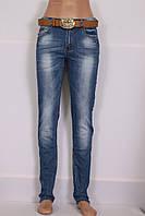 Женские джинсы больших размеров с высокой посадкой приуженные