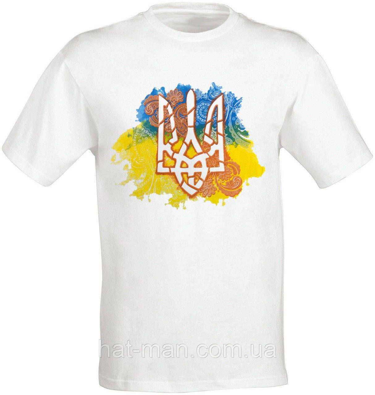 Футболка с украинской символикой