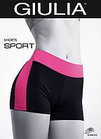 Спортивные шорты  (Pink (черный/Малиновый))