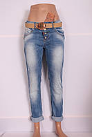 Женские турецкие джинсы бойфренды Red Sold