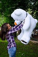 Мишка Барни 130 см.Мягкая игрушка.игрушка медведь.мягкие игрушки украина.Плюшевый мишка Белый