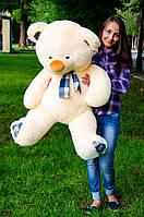 Мишка Барни 130 см.Мягкая игрушка.игрушка медведь.мягкие игрушки украина.Плюшевый мишка персиковый