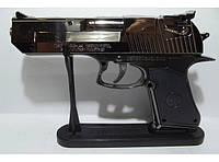 Сувенир зажигалка в виде пистолета подарок-прикол
