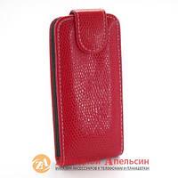 Чехол книжка Nokia 206 Chic Case rm-872 rm-873 красный