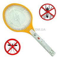 Мухобойка электрическая в виде теннисной ракетки