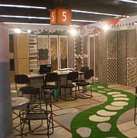 Представление на Международных  выставках камня предприятий Украины.