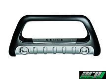 Защита переднего бампера Kia Sportage