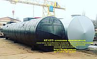 Резервуар для нефтепродуктов ГСМ  100 м.куб.