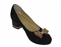 Женские замшевые туфли,в наличии 37 размер