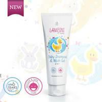 LamBINI BABY SHAMPOO / детский шампунь-гель 150мл