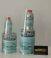 OPTIMAL Грунт акриловый 2K Acryfiller 5+1 HS, серый
