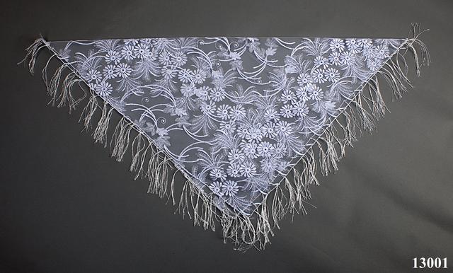 Свадебный платок астра 4