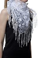 Свадебный платок тюльпанчик, фото 1