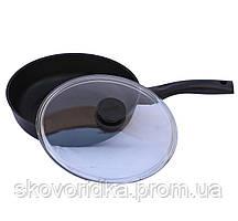 Сковорода с крышкой Биол Классик  28 см (2807ПС)