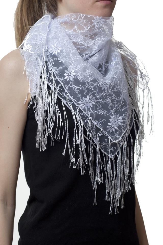 Свадебный платок ромашка 1