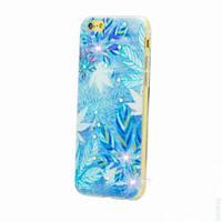 Чехол-накладка Diamond Silicone Samsung J100 (J1) Frozen Leaves