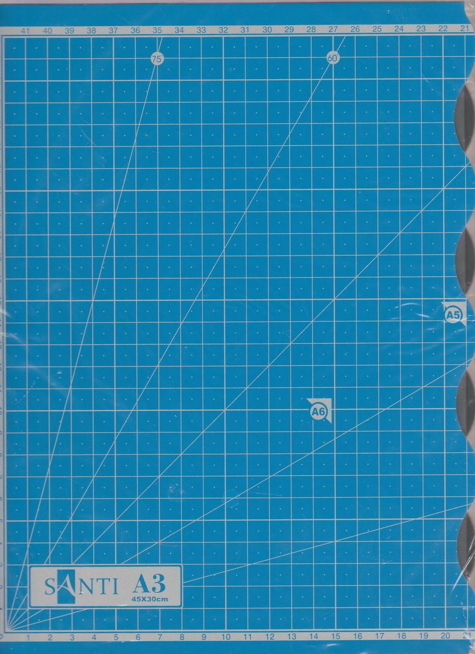 Коврик для резки А3 (300 * 420 * 3 мм)
