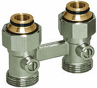 Узел нижнего подключения для радиаторов с наружной резьбой 3/4' Basicline (Rossweiner) (Прямой)