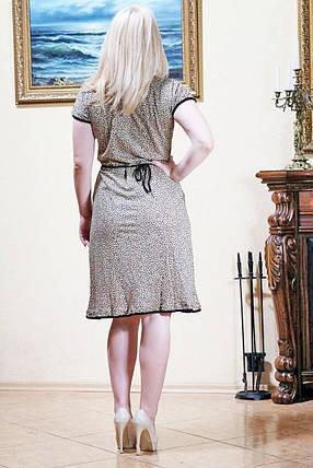 Женский летний халат Батал c Запахом (YH012/Z) | 4 шт., фото 2