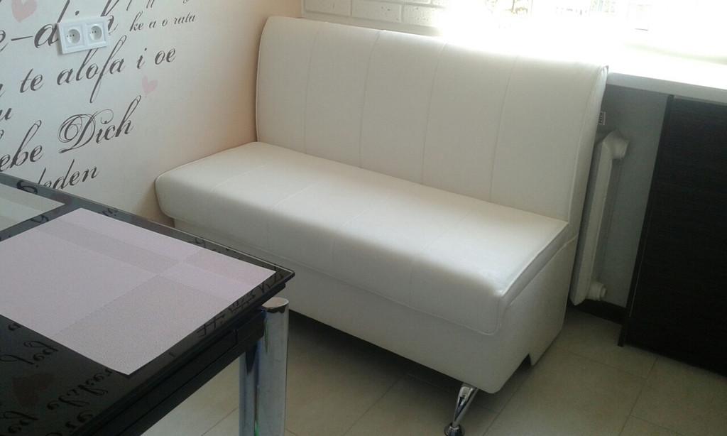 Изготовление скамьи под заказ  для уютной зоны на кухне.