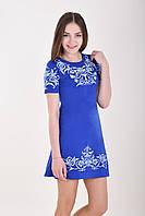 Стильное платье с традиционной вышевкой, фото 1