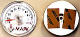 """Термометр 57 мм """"липучка"""" (без фир.уп, Украина) котлов газовых, твердотопливныхи и трубопроводов, к.з 0326, фото 2"""