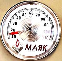 Термометр накладной (указатель температуры на липучке) для напольных котлов, код сайта 0326