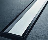Крышка дренажного канала Geberit CleanLine60 154.456.00.1 черный/матовый металл